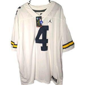 Tom Brady Michigan State Implied Jersey 3XL